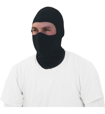 COOLMAX® BALACLAVA WITH NEOPRENE FACE MASK BLACK RIDER