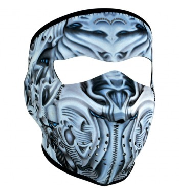 FACE MASK NEOPRENE BIOMECHANICAL LETHAL DESIGN