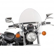 Universal windshield for custom motorcycle