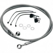 Motorcycle rubber and aeronautical brake lines kit ABS,Dot 4, Dot 5