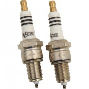 High performance spark plugs with platinum, iridium,Accel, NGK