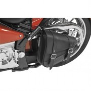 swingarm bags and belt cover harley