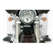 parabrezza deflettori paragambe Harley Davidson e moto custom