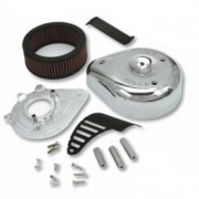 S&S kit Air Filters Kit Stealth, Super Stock round and teardrop